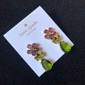 Kate Spade in full bloom earrings